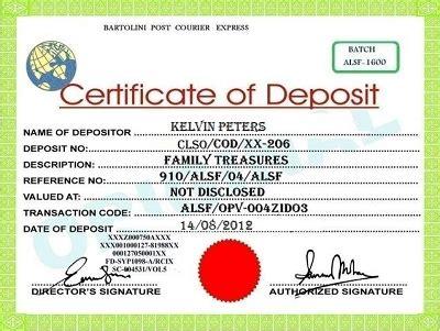 Anti Money Laundering Certificate Choice Image Editable Bank Printable Certificate Of Deposit Template Pdf