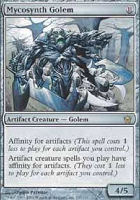 karn the silver golem commander edh mtg deck