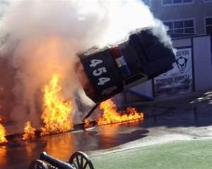 File:Police Academy Stunt Show - explosion and car flip ...