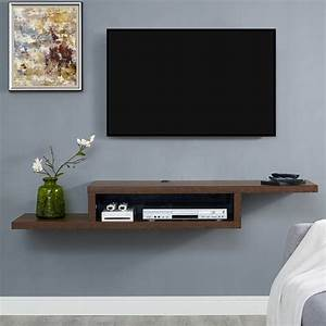 shelf under tv design decoration With best brand of paint for kitchen cabinets with 3d paper wall art