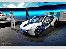Frankfurt Auto Show BMW Vision EfficientDynamics [Live
