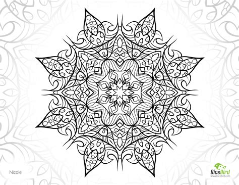 printable complex coloring pages flower free printable complex coloring pages