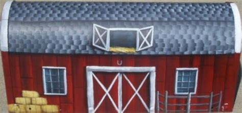 mailboxes rural route hand painted personalized