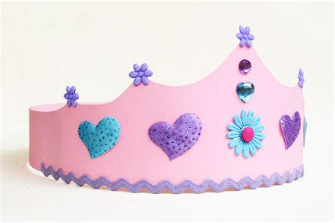 paper crown kids crafts fun craft ideas