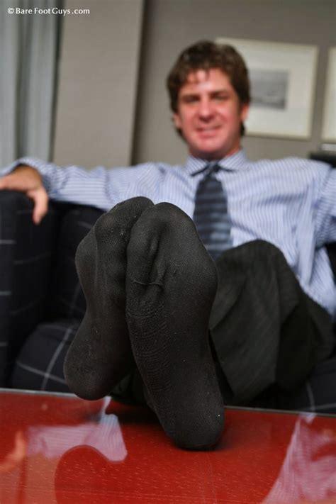 pin  men socked feet