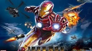 Marvel Iron Man Pc Video Game Desktop Hd Wallpaper For Pc ...