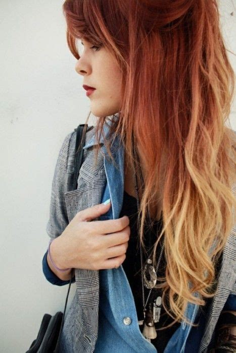 25 Best Ideas About Blonde Dip Dye On Pinterest Dip