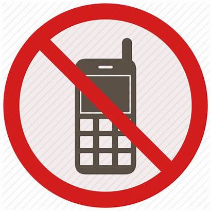 Phone Mobile Call Warning Calls Signs Icon