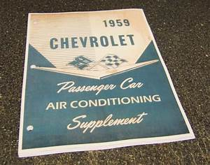 1959 Chevrolet Passenger Car Impala Air Conditioning