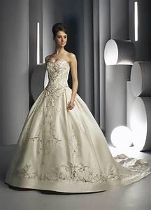 China embroidered weddding dress and wedding gowndavic007 for Embroidered wedding dress