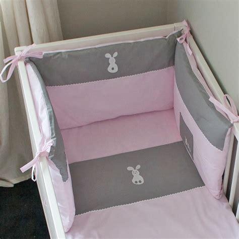 tour de lit bebe fille tour de lit fille lapinou accessoire lit b 233 b 233 pony design gigoteuse