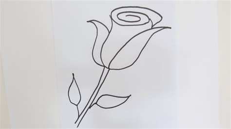 easy and easy flower drawing step by step how to draw beautiful flowers easy and simple drawing youtube
