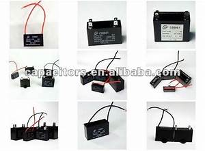 Motor Run Kondensator With Wires For Lighting China