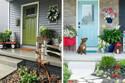 small front porch ideas   decorate  porch love
