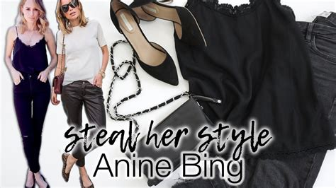 Steal her style: Anine Bing! - YouTube