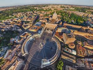 Vatican City Aerial View
