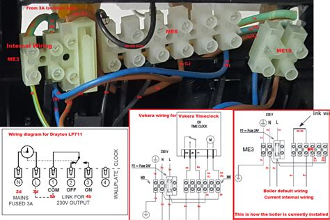 Boiler Wiring Help Wanted Please Vokera Linea
