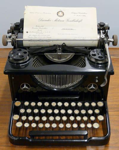 Alte Schreibmaschinen Wert by Streifz 252 Ge Durch Das Archiv Schreibmaschinen Bei Daimler
