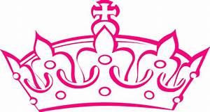 Pink Haley Tiara Princess Clip Art at Clker.com - vector ...