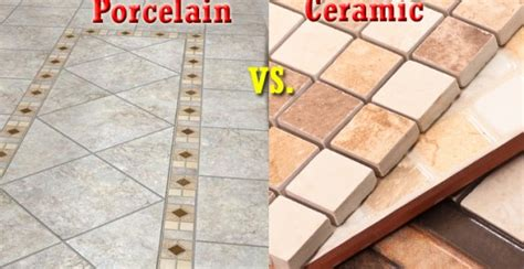 Difference Porcelain And Ceramic Tile