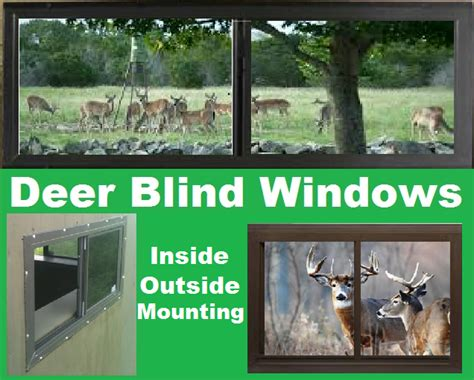 deer blind hunting stand windows  doors biltbest window parts