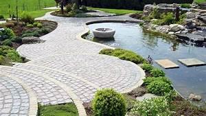 Jardin Avec Bassin : comment r aliser une belle all e de jardin par emmanuelle lartilleux ~ Melissatoandfro.com Idées de Décoration