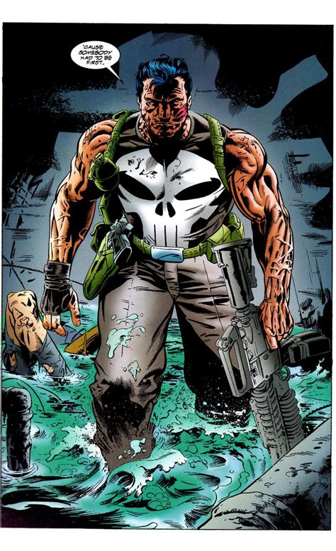 Kaos Punisher 5 punisher kills the marvel universe by doug
