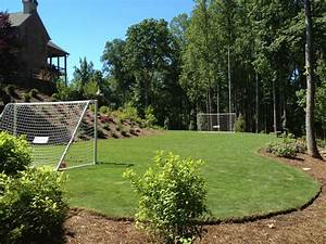 Custom soccer field designed and built by Outdoor ...