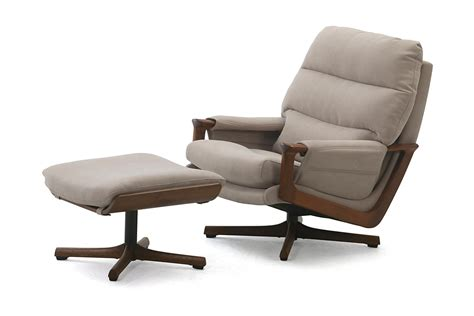 Executive Swivel Chair & Footstool
