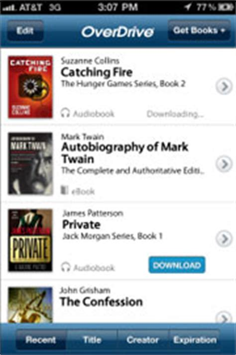 overdrive app android overdrive updates android and iphone apps the ebook
