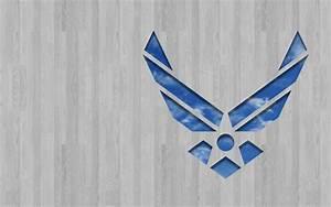 Air Force Logo Wallpaper - WallpaperSafari