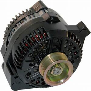 Alternator Fits Ford Mustang One Wire Black 1