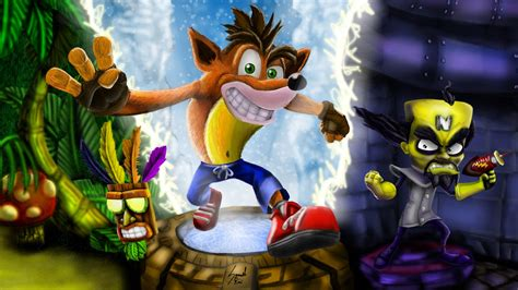 crash bandicoot hd wallpapers  background images