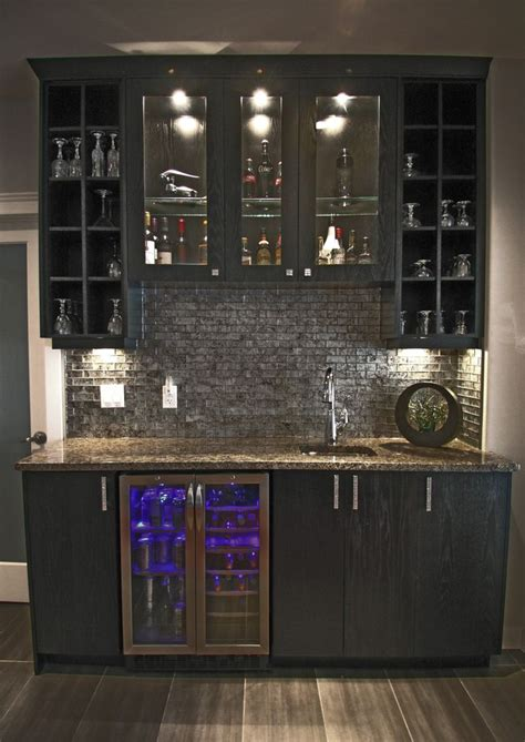 ideas   stylish home bar cabinet city kitchen  bath