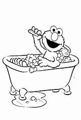 Coloring Bath Bubble Pages Clipart Bathtub Elmo Clean Street Sesame Clip Were Fresh Printable Kidsdrawing Drawing Finger Books Guppies Sketch sketch template