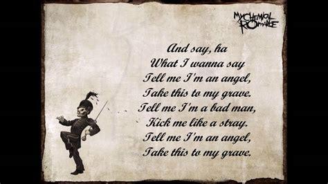 house of wolves lyrics mcr house of wolves lyrics