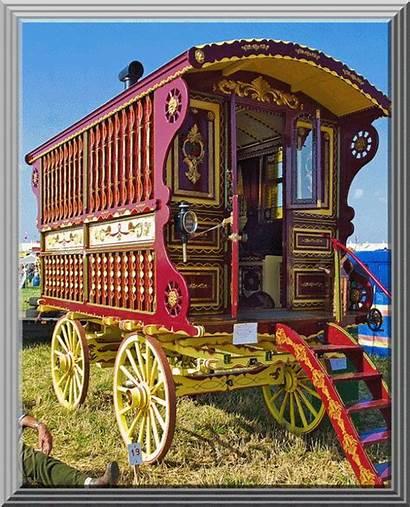 Gypsy Caravan Wagon Horse Trailer Drawn Vardo