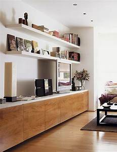 How to use modern tv wall units in living room wall decor for Modern cabinets for living room