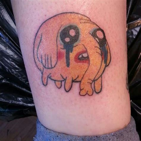 charming examples  adventure time tattoos