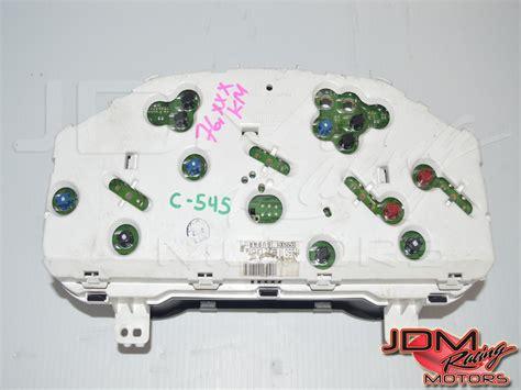 motor repair manual 1994 subaru impreza instrument cluster id 4072 jdm steering wheels gauge clusters other interior components subaru jdm engines