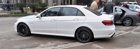 The White Knight -- 2014 Mercedes-benz E63 Amg 4matic S