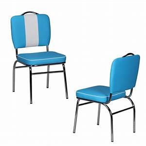 American Diner Zubehör : esszimmerstuhl american diner 50er jahre retro blau wei solidus24 ~ Sanjose-hotels-ca.com Haus und Dekorationen