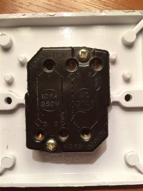 fitting  double dimmer switch diynot forums