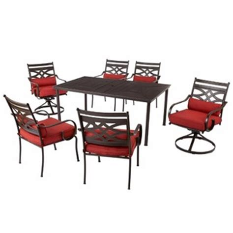 7 hton bay middletown patio dining set with