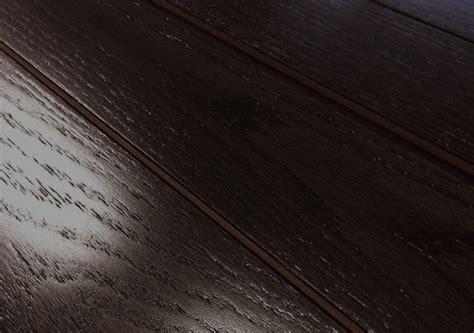 black hardwood floors