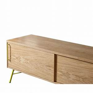 Meuble Tv Design Bois : meuble tv design et pratique ashburn ~ Melissatoandfro.com Idées de Décoration