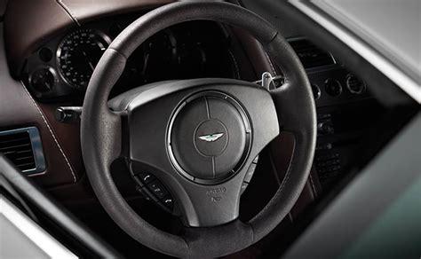 aston martin steering alcantara steering wheel