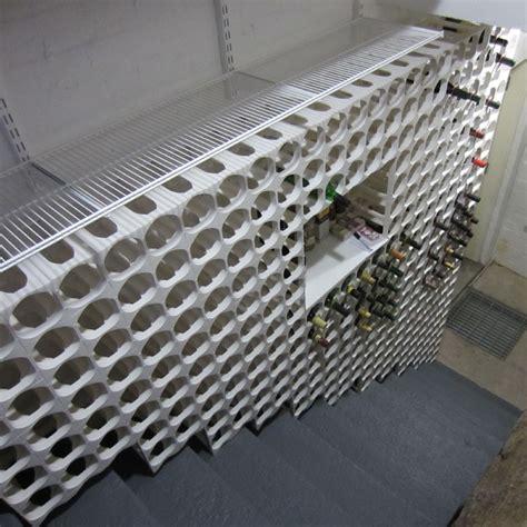 cellarstak   bottle plastic wine rack black wine