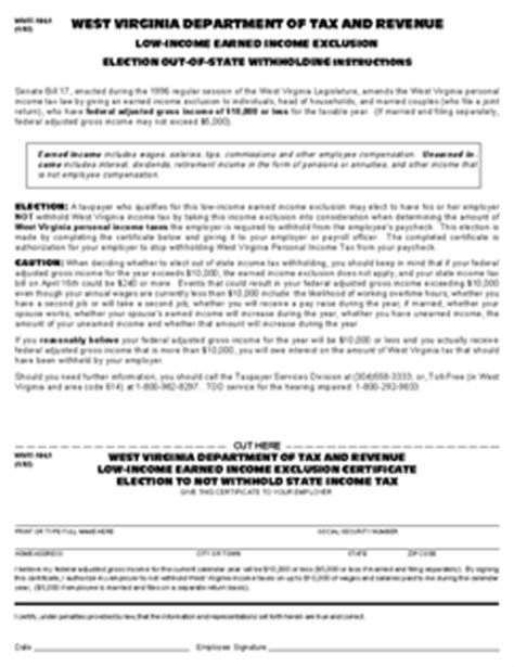 form it 104 1 low income earned income exclusion election