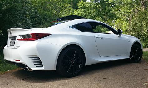 lexus rc 350 spoiler lexus rc a coupe of many flavors some hotter than others